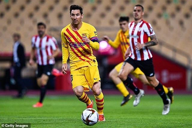 Messi thiết lập kỷ lục ghi bàn mọi thời đại ở Cúp Nhà vua