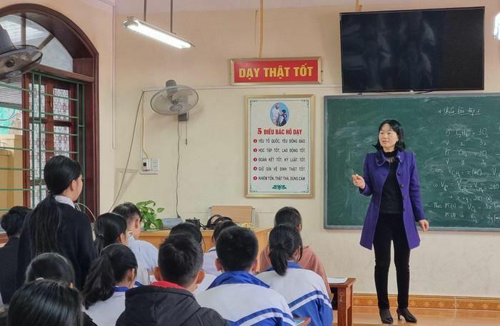 Cô giáo Phường không ngừng sáng tạo và cống hiến