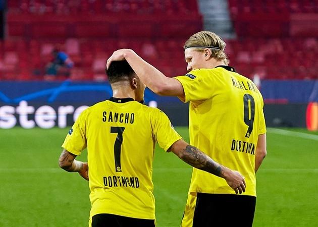 """XONG! """"Sếp bự"""" Dortmund làm rõ chuyện đi ở của Haaland – Sancho"""
