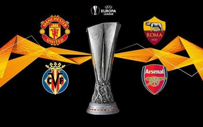 Bán kết Europa League 2020/2021: Man Utd chạm trán AS Romaa, Villarreal gặp Arsenal