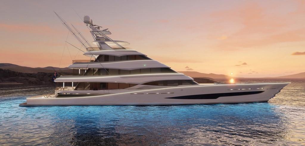 Bản thiết kế của du thuyền câu cá sang trọng nhất thế giới