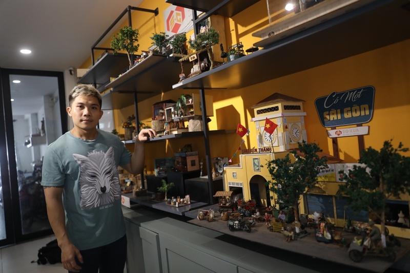 9X bỏ nước ngoài về quê khởi nghiệp bằng mô hình Sài Gòn xưa