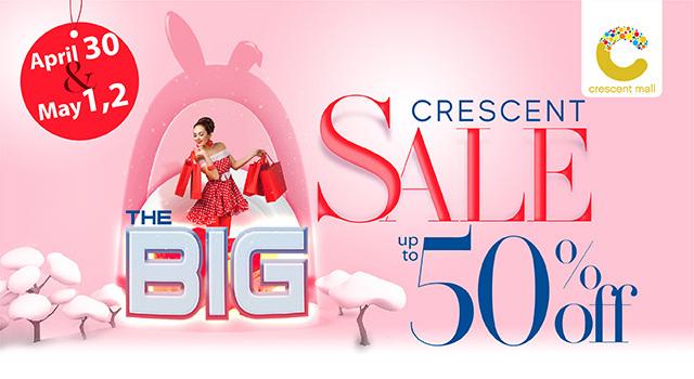 3 ngày siêu sale đẳng cấp – diện đồ thời thượng tại Crescent Mall