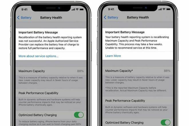 iOS 14.5 khắc phục tình trạng pin không chính xác trên iPhone 11