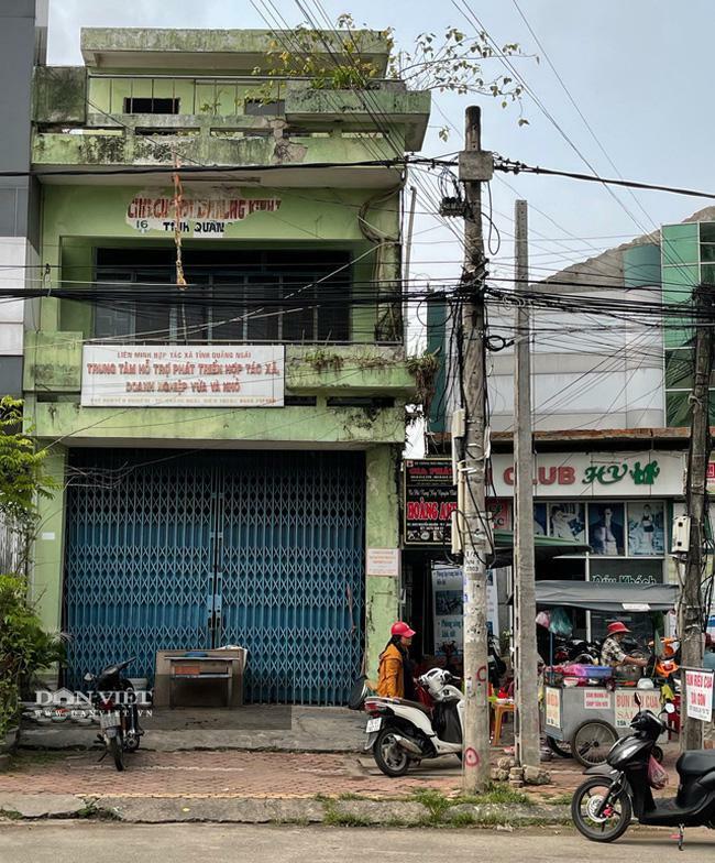 Quảng Ngãi: Nhà công sản trị giá vài tỷ bỏ hoang ngay trung tâm thành phố