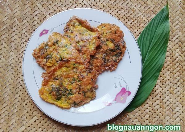 Thơm ngào ngạt món trứng cá chiên lá lốt cho bữa tối thêm ngon !