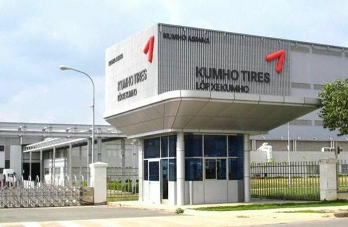 Kumho sắp rót thêm hơn 300 triệu USD vào nhà máy lốp xe ở Việt Nam