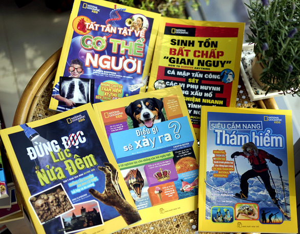 Bộ sách quốc tế đình đám National Geographic Kids ra phiên bản Việt