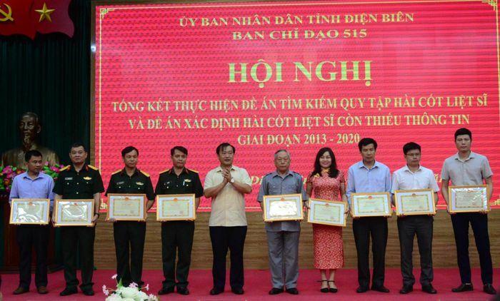 Điện Biên: Hoàn thành lập bản đồ chôn cất ban đầu 17.418 liệt sĩ