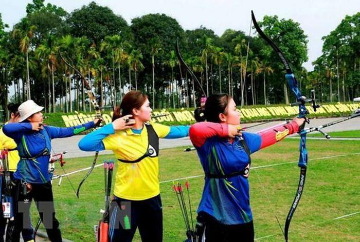 Đoàn Hà Nội dẫn đầu Giải vô địch cung thủ xuất sắc toàn quốc 2021