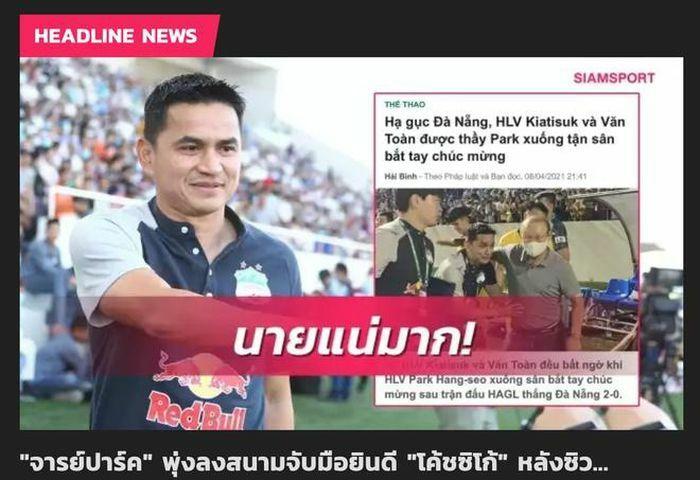 """Báo Thái """"hốt hoảng"""" khi thấy HLV Kiatisak """"giúp sức"""" đội tuyển Việt Nam"""