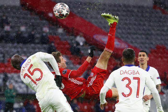 Bayern lỡ cơ hội cân bằng kỷ lục của MU tại Champions League