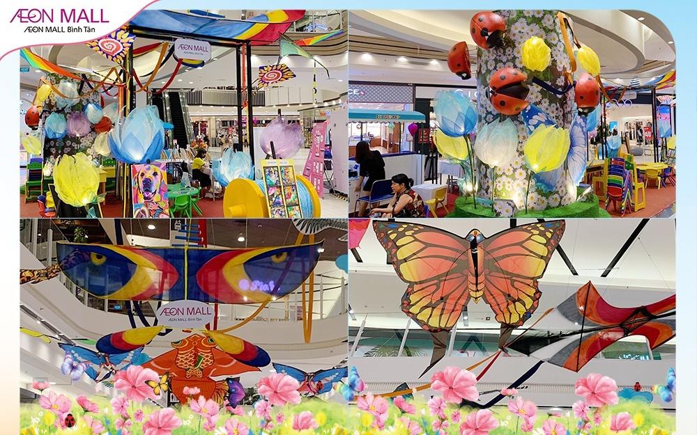 """Chuỗi hoạt động """"Mùa xuân diệu kỳ"""" tại AEON Mall Bình Tân"""