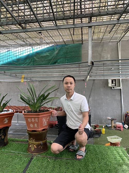 Nguyễn Văn Thắng – người dành trọn tình yêu với lan đột biến