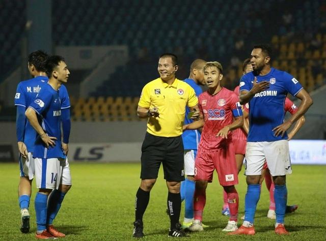 Đánh bại Sài Gòn FC, Than Quảng Ninh vươn lên dẫn đầu V-League