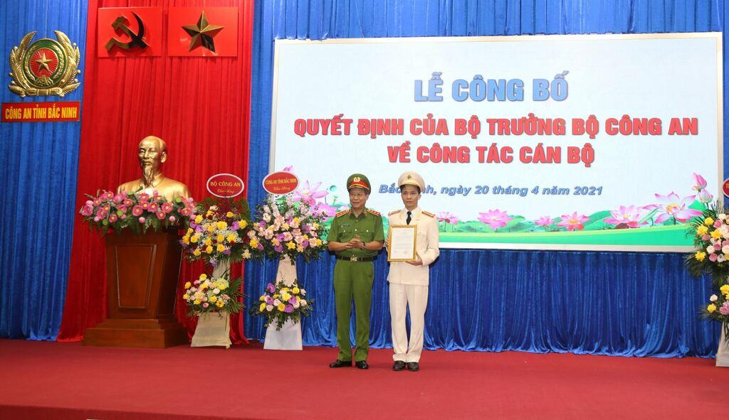 Bắc Ninh có tân Giám đốc Công an tỉnh 43 tuổi