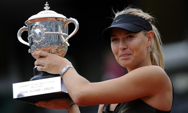 Maria Sharapova: Tượng đài tài năng và xinh đẹp của làng quần vợt thế giới