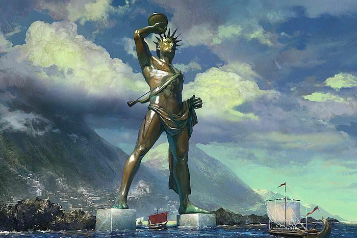 Bí ẩn số phận bức tượng thần Mặt Trời trên đảo Rhodes
