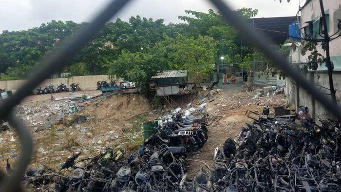 Nguyên nhân ban đầu vụ cháy bãi xe của CSGT TP Thủ Đức