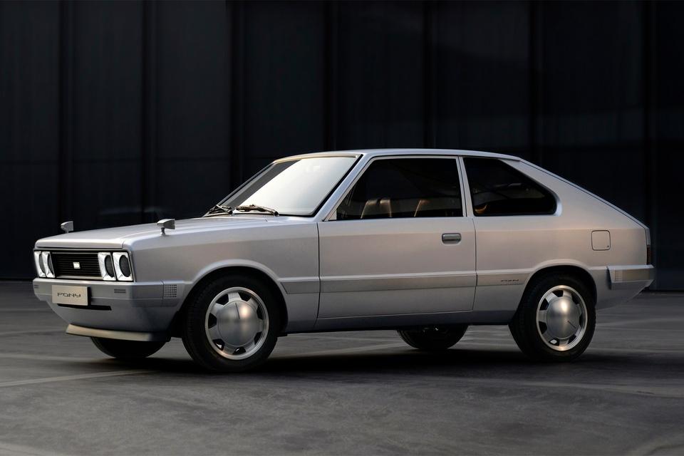 Chi tiết Hyundai Pony EV – xe điện theo phong cách hoài cổ