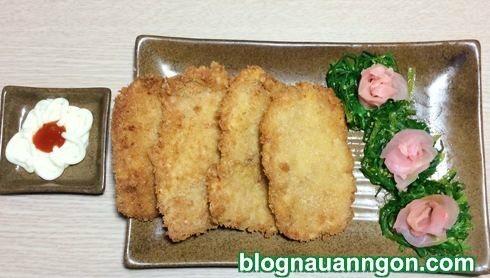 Giòn rụm thơm ngon món thịt chiên xù cả nhà thích mê !