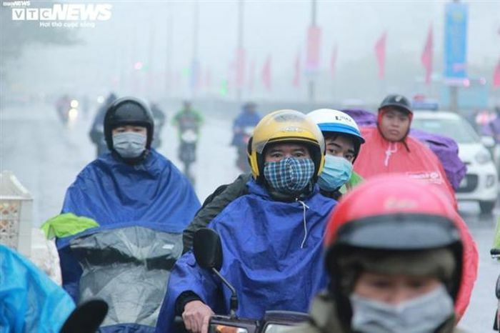 Không khí lạnh tràn về, Bắc Bộ mưa rét nhiều nơi