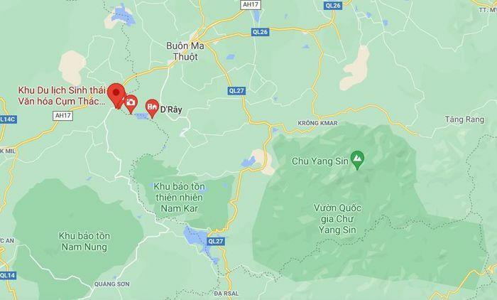 Người đàn ông nước ngoài mất tích khi đi chơi thác ở Đắk Nông