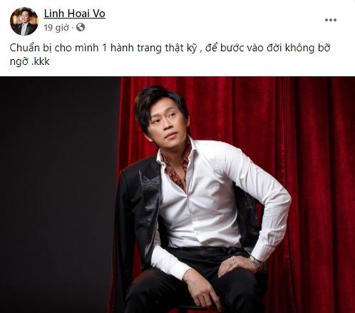 Danh hài Hoài Linh gây sốt với hình ảnh trẻ đẹp như người mẫu tuổi đôi mươi