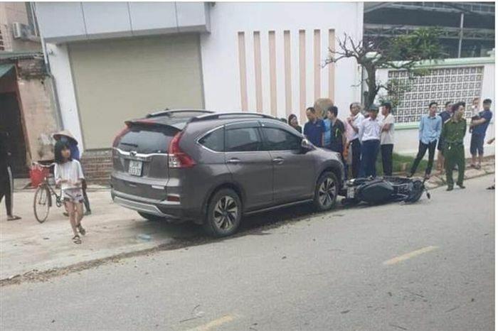 Khởi tố nữ tài xế ô tô tông chết 2 mẹ con ở Phú Thọ