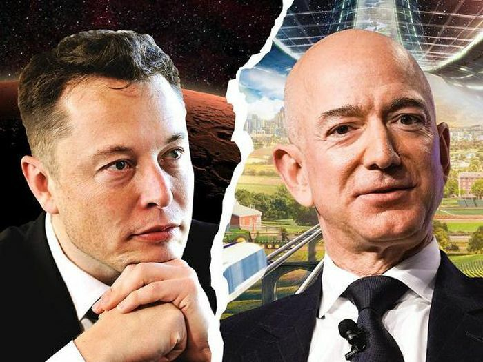 Cuộc chiến tỷ phú: Công ty của Jeff Bezos phản đối hợp đồng NASA dành cho công ty của Elon Musk