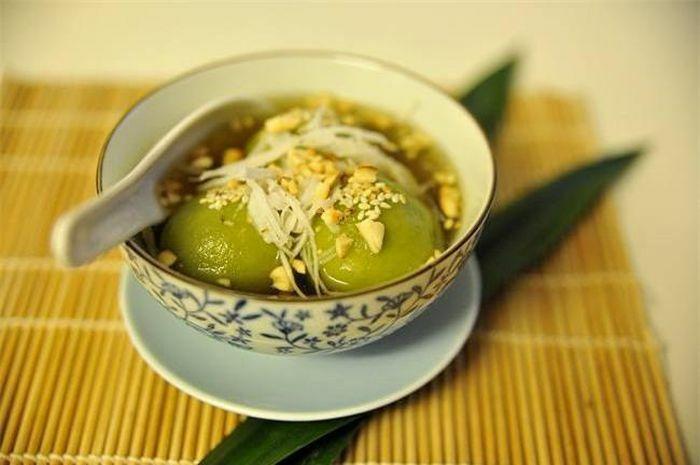 Chè trôi nước lá dứa đặc biệt cho ngày Tết Hàn thực
