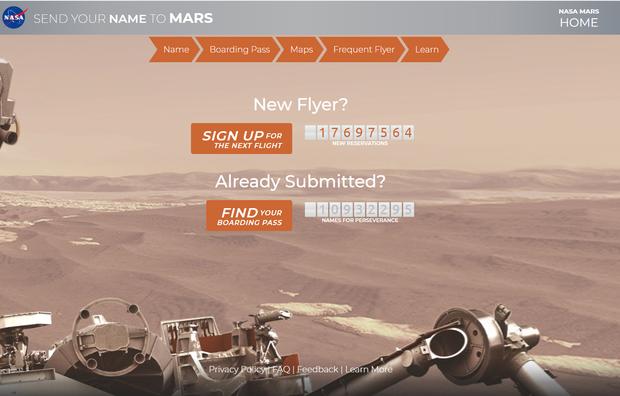 """NASA """"bật đèn xanh"""" cho bất kỳ ai cũng có thể gửi tên mình lên Sao Hỏa, cách thực hiện chỉ trong một nốt nhạc!"""