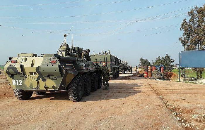 Quân đội Nga và Thổ Nhĩ Kỳ thực hiện nhiệm vụ tuần tra chung ở Syria