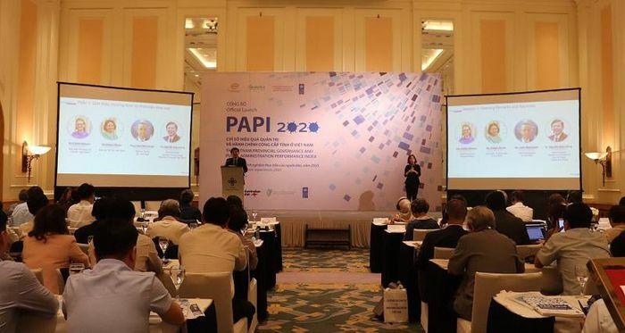 """Chỉ số PAPI 2020: """"Kiểm soát tham nhũng trong khu vực công"""" và """"Trách nhiệm giải trình với người dân"""" có nhiều cải thiện"""