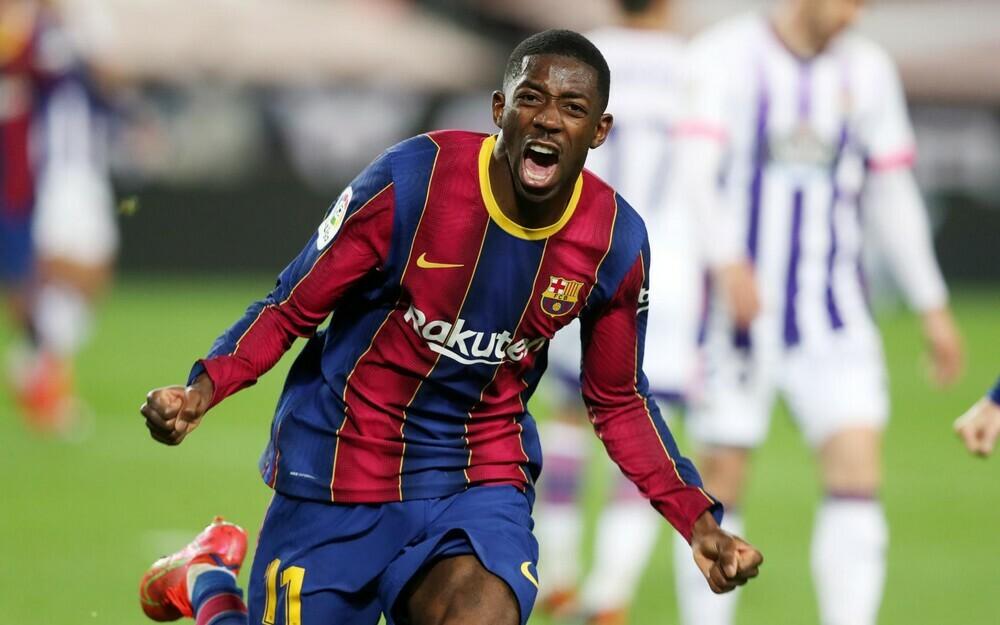 Barca phả hơi nóng vào gáy Atletico Madrid nhờ bàn thắng phút 90