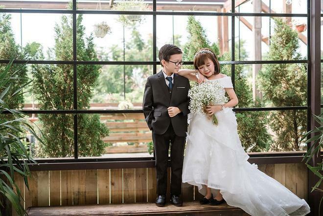 Hôn nhân cặp vợ chồng tí hon bị nhầm học sinh tiểu học sau 2 năm chung nhà