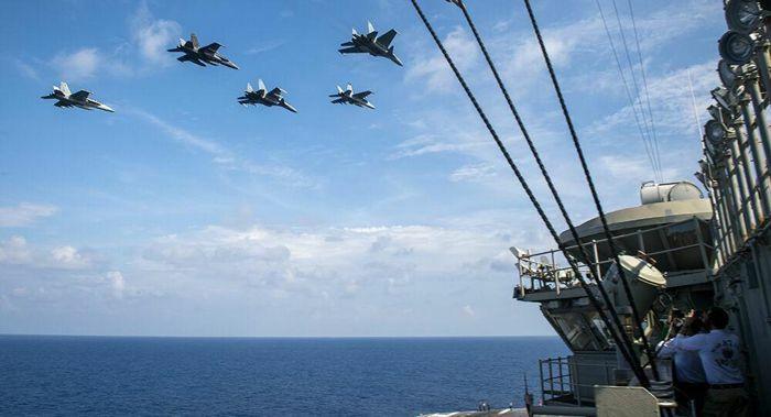 Nhóm tàu chiến Mỹ kéo vào Biển Đông tập trận cùng Malaysia