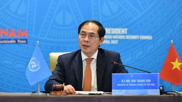 Tân Bộ trưởng Ngoại giao VN chủ trì phiên thảo luận của Hội đồng Bảo an