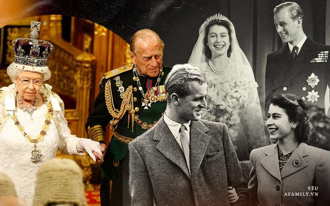 """Xuất thân danh giá lại tài giỏi như Hoàng tế Philip vẫn dùng hơn 7 thập kỉ để """"phò tá"""" vợ: Còn các ông chồng 4.0 sao chỉ biết """"khua môi"""" làm đẹp mặt mình?"""