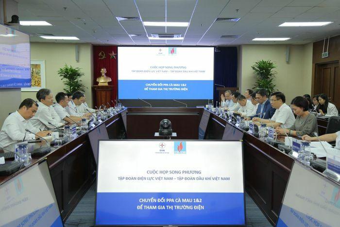 Petrovietnam và EVN tăng cường hợp tác trong lĩnh vực điện