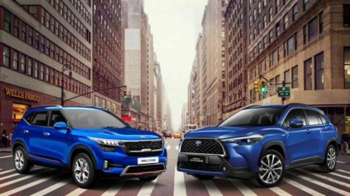 Toyota Corolla Cross và Kia Seltos: Khan hàng vẫn độc chiếm phân khúc