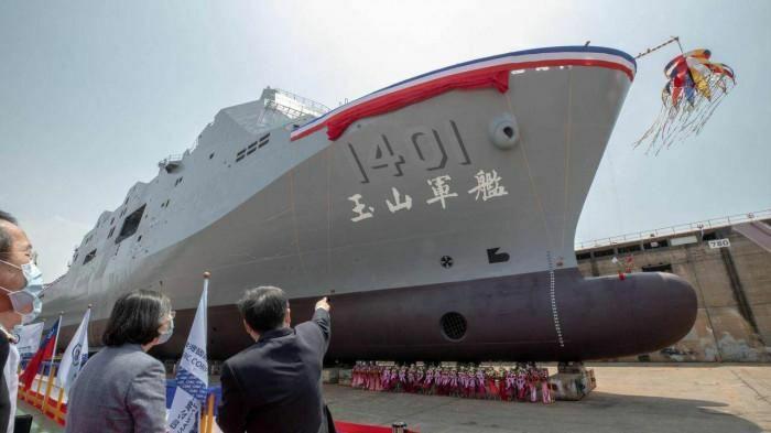 Trung Quốc bất ngờ với tàu đổ bộ hiện đại mới nhất của Đài Loan