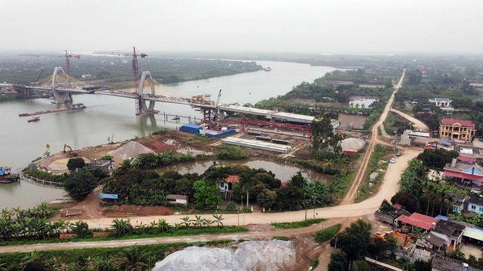 Cầu trăm tỷ nối Hải Phòng – Hải Dương nguy cơ chậm tiến độ
