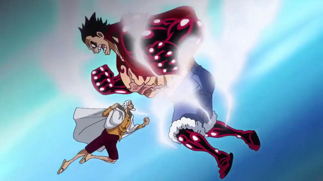 """One Piece 1010: Chứng kiến cảnh Luffy ngộ ra sức mạnh, các fan phấn khích cho rằng Kaido """"dạy"""" tốt hơn Rayleigh"""