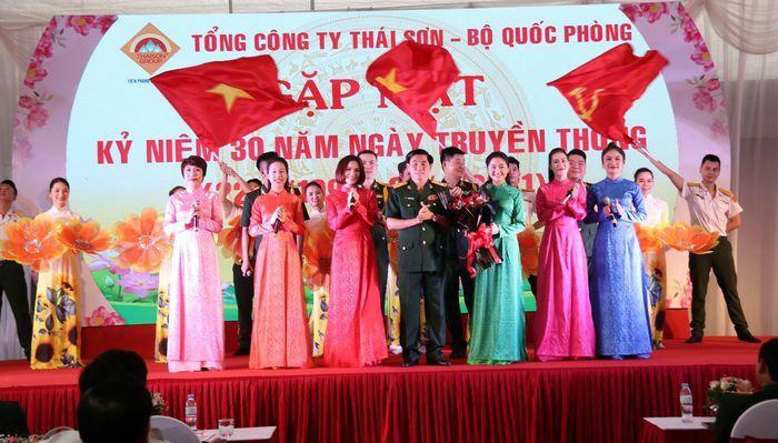 Tổng Công ty Thái Sơn gặp mặt 30 năm Ngày truyền thống