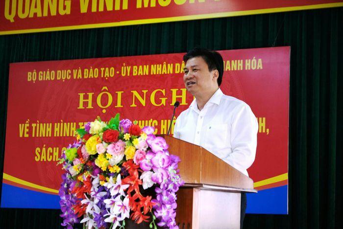 """Thứ trưởng Nguyễn Hữu Độ: """"Tạo cơ hội, điều kiện tốt nhất cho học sinh"""""""