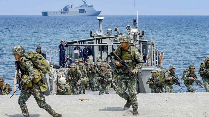 Mỹ và Philippines tập trận chung ở khu vực Biển Đông: Liên thủ nhất thời