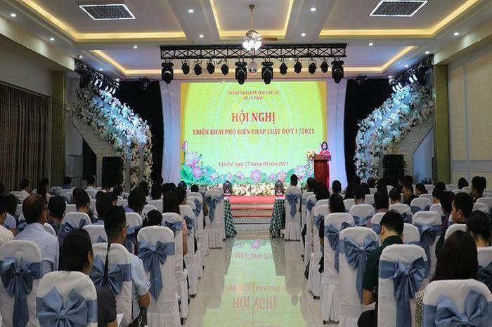 Lào Cai tổ chức hội nghị triển khai phổ biến pháp luật đợt 1 năm 2021