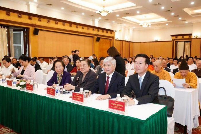 Đồng chí Đỗ Văn Chiến giữ chức Chủ tịch Ủy ban Trung ương Mặt trận Tổ quốc Việt Nam