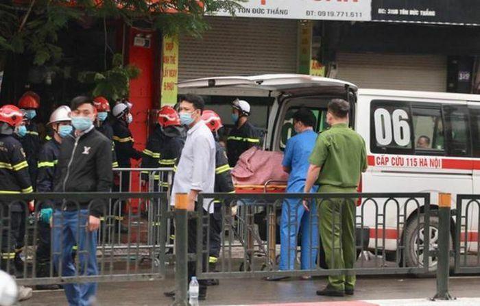 Bốn người tử vong trong đám cháy giữa đêm khuya tại Hà Nội